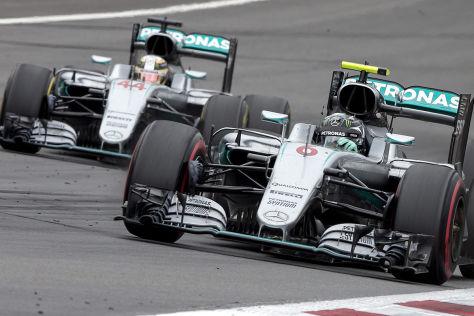 Formel 1: Strafe für Rosberg