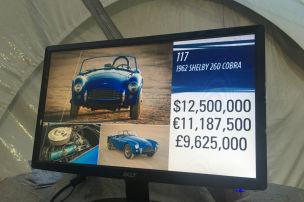 Pebble Beach: Erste Shelby Cobra versteigert