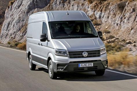VW Crafter (2016): Fahrbericht der Abnahmefahrt