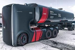 Designstudie: Audi Future Truck