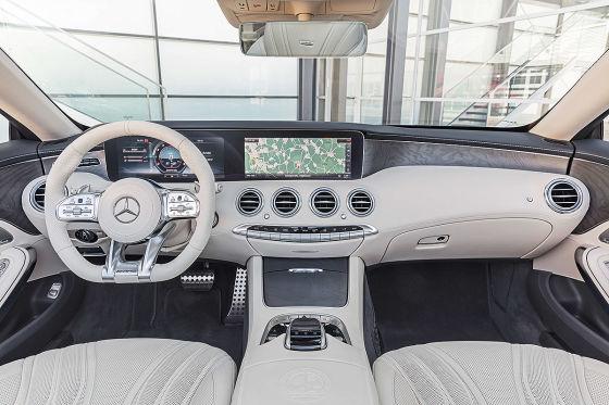 Mercedes S-Klasse Coupé/Cabrio/AMG Facelift (2017): Preis, Test ...