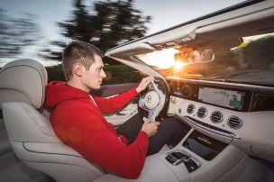 Sahne-V8 im S-Klasse Cabrio