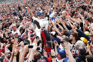 Briten feiern Rockstar Hamilton