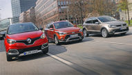 Hyundai i20 Active/Renault Captur/VW CrossPolo: Test