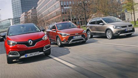 Hyundai i20 Active/Renault Captur/VW CrossPolo: Test