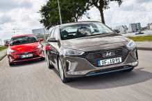 Hyundai Ioniq Hybrid/Toyota Prius: Test