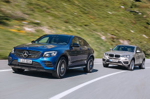 BMW X4/Mercedes GLC: Test