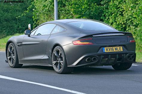 Aston Martin Vanquish S (2017): Erlkönig