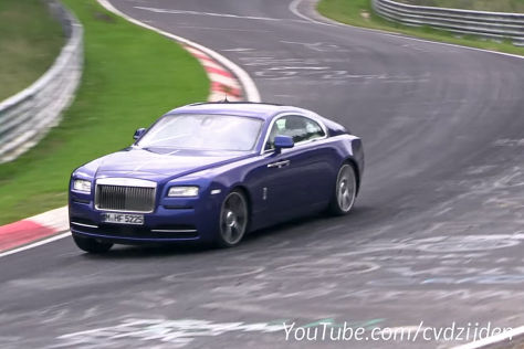 Video: Rolls-Royce auf dem Nürburgring