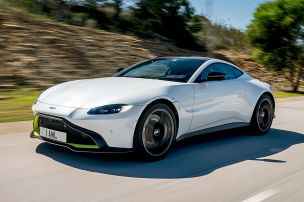 V8 Vantage mit AMG-Power