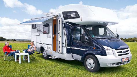 Hymer Camp 622 CL: Wohnmobil-Test