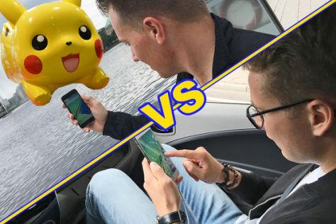 Pokémon Go Challenge (2016): Fußgänger gegen Auto