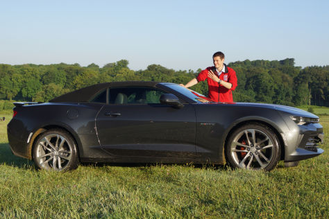 Chevrolet Camaro Cabrio Vierzylinder (2016) Fahrbericht