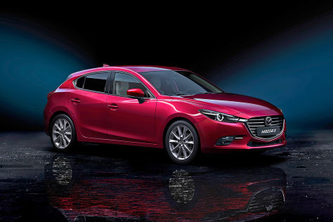 Mazda3 Facelift (2016): Vorstellung