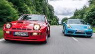 Porsche 718 Cayman S/Porsche 924 Carrera GT: Vergleich