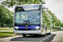 Der Zukunfts-Bus fährt autonom