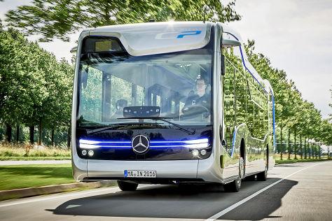 Mercedes-Benz Future-Bus (2016): Mitfahrt