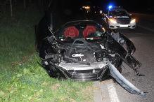 McLaren-Crash nach Sekundenschlaf