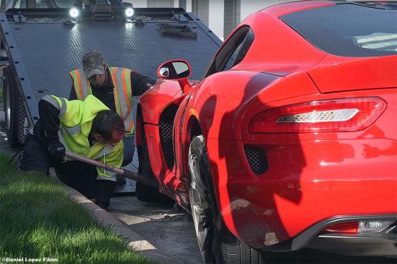 Supercar-Crash: Lamborghini Aventador
