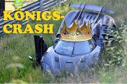 Crash Koenigsegg auf Nürburgring