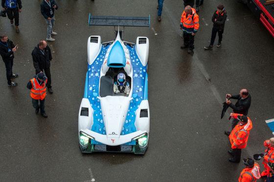 Michelin Motorsport: Bolide mit Brennstoffzelle Green GT H2