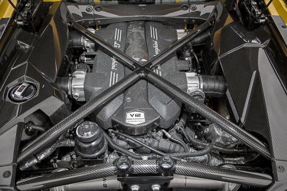 Der Aventador wird stärker