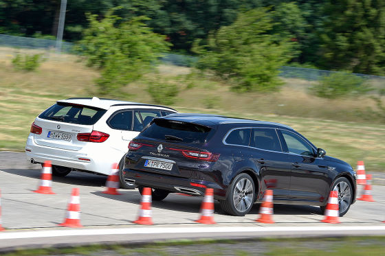 BMW 3er Touring Renault Talisman Grandtour