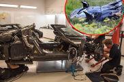 Ursache Crash Koenigsegg One