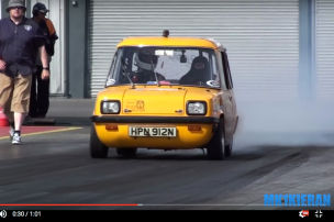 Flux Capacitor: 1974er Enfield 8000 schafft Weltrekord