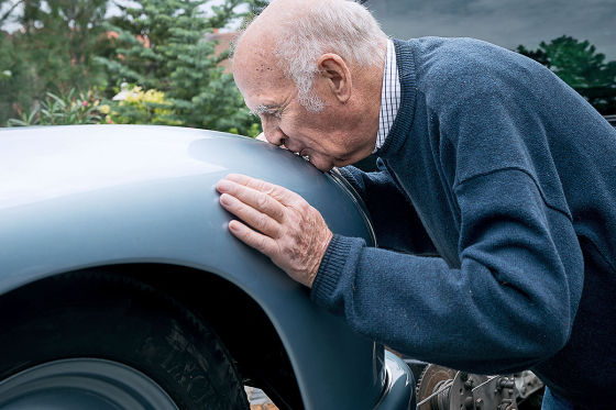 Österreicher rettet Porsche-Nachbau aus der DDR