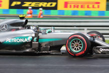 Rosberg holt die Pole in Ungarn