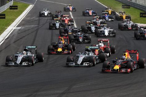 Formel 1: Hamilton gewinnt Ungarn GP