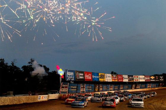 Einziges Dirt-Track-Rennen des Jahres