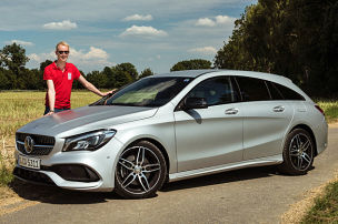 Mercedes CLA Shooting Brake Facelift (2016)