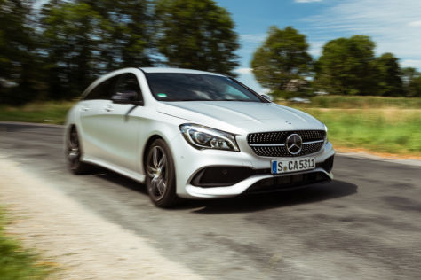 Mercedes CLA Shooting Brake Facelift (2016): Fahrbericht