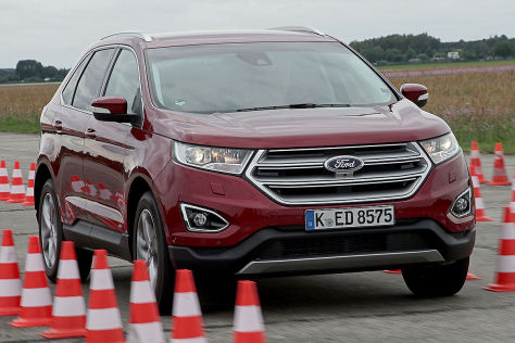 ford edge das entspannte suv aus bersee im test. Black Bedroom Furniture Sets. Home Design Ideas