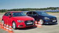 Audi A3 Sportback/Mercedes A-Klasse: Test