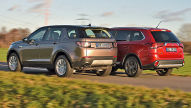 Land Rover Discovery Sport/Mitsubish Outlander: Test