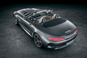 Mercedes-Roadster mit 557 PS