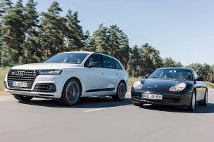 Audi SQ7 vernascht 911er