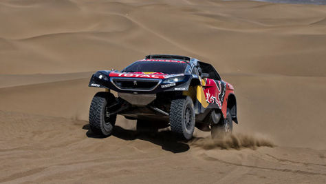 Silk Way Rallye: Peugeot gewinnt