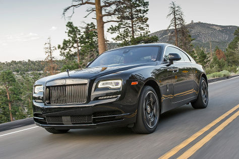 Rolls-Royce Wraith/Ghost Black Badge