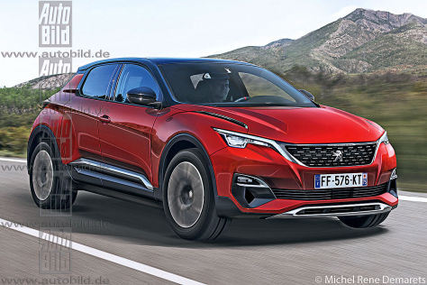 Peugeot 1008 Illustration