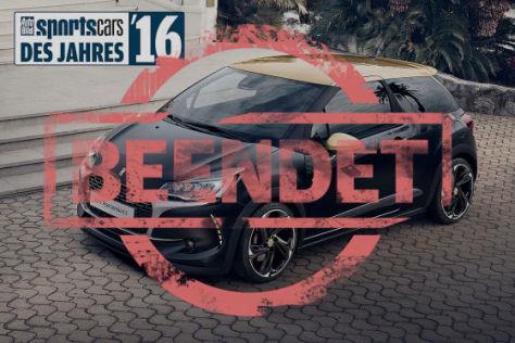 Sportscars des Jahres 2016 Leserwahl