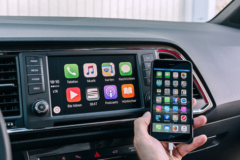 Seat DriveApp: Connected Car mit Apple Carplay