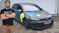 Sidney Hoffmann: VW Golf VII GTD und Beetle