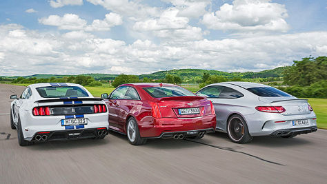 Mustang Shelby GT 350/ATS-V/AMG C 63 S: Test