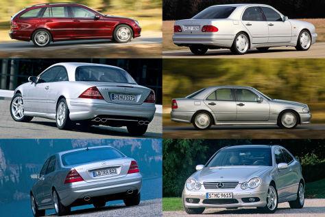 Mercedes-AMG: Gebrauchte für unter 10.000 Euro