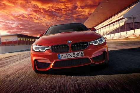 BMW M4 (F82) Facelift: Erlkönig