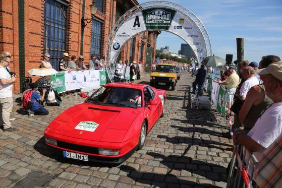 Alle Autos, alle Teilnehmer
